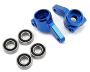 ST Racing Concepts Oversized Front Knuckles w/Bearings (Blue) | relatedproducts
