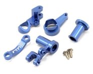 ST Racing Concepts HD Aluminum Steering Bellcrank Set (Blue) (Slash 4x4) | alsopurchased