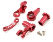 ST Racing Concepts HD Aluminum Steering Bellcrank Set (Red) (Slash 4x4) | relatedproducts