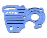 ST Racing Concepts Aluminum Finned Heat Sink Motor Plate (Blue) | relatedproducts
