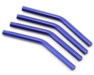 ST Racing Concepts 30 Degree Middle Bend V2 Threaded Aluminum Links (Blue) | product-related