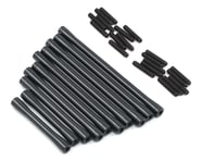 ST Racing Concepts SCX10 II RTR HD Suspension/Steering Link Set (10) (Black) | relatedproducts