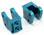 ST Racing Concepts Aluminum HD Bottom Shock Mount Set (2) (Blue) | relatedproducts
