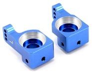ST Racing Concepts SC10 4X4 Aluminum Rear Hub Carriers (Blue) | product-related