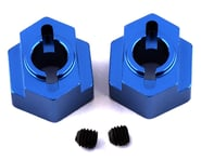 ST Racing Concepts DR10 Aluminum Rear Hex Adapters (2) (Blue) | product-related