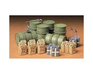 Tamiya 1 35 GER FUEL DRUM SET | relatedproducts