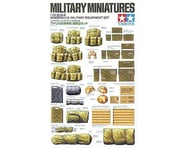 Tamiya 1 35 MOD US MILIT EQUIPMT | relatedproducts