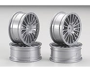 Tamiya Medium Narrow 18-Spoke 1/10 Scale On Road Wheels (Silver) (4) | relatedproducts
