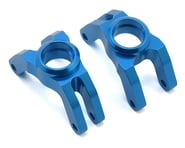 Tamiya TT-01 Aluminum Toe In Rear Uprights (Blue) | relatedproducts