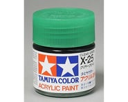 Tamiya X-25 Clear Green Gloss Finish Acrylic Paint (23ml) | relatedproducts