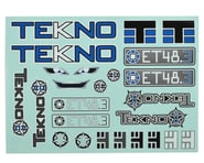 Tekno RC ET48.3 Decal Sheet | relatedproducts