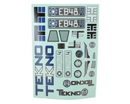 Tekno RC EB48.4 Decal Sheet | relatedproducts