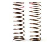Tekno RC Low Frequency 75mm Front Shock Spring Set (Pink - 3.82lb/in) | relatedproducts