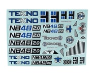 Tekno RC NB48 2.0 Decal Sheet | alsopurchased