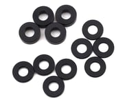 Team Losi Racing M3 Caster Block Aluminum Washer Set (Black) (4) | relatedproducts
