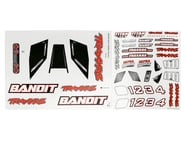 Traxxas Decal Sheet Bandit | relatedproducts