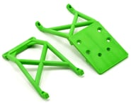 Traxxas Stampede Front & Rear Skid Plate Set (Green) (Grave Digger) | relatedproducts