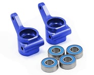 Traxxas Aluminum Steering Blocks w/Ball Bearings (Blue) (2) | alsopurchased