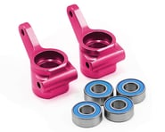 Traxxas Aluminum Steering Blocks w/Ball Bearings (Pink) (2) | relatedproducts