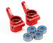 Traxxas Aluminum Steering Blocks w/Ball Bearings (Red) (2) | relatedproducts