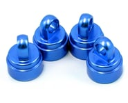 Traxxas Aluminum Ultra Shock Cap (Blue) (4) | alsopurchased