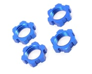 Traxxas Wheel Nuts Splined 17mm Blue-Anodized Revo/T-Maxx 3.3/E-Revo/Summit (4) TRA5353 | alsopurchased
