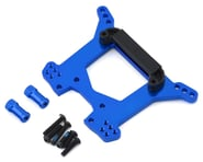 Traxxas Aluminum Rustler 4X4 Rear Shock Tower (Blue) | alsopurchased