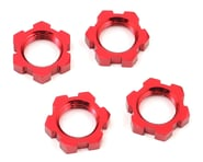 Traxxas X-Maxx 17mm Splined Wheel Nut (Red) (4) | relatedproducts
