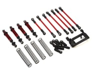 Traxxas TRX-4 Complete Long Arm Lift Kit Red TRA8140R | relatedproducts