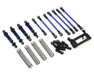 Traxxas TRX-4 Complete Long Arm Lift Kit (Blue) | relatedproducts