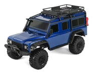 Traxxas TRX-4 1/10 Scale Trail Rock Crawler w/Land Rover Defender Body (Blue)   relatedproducts