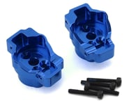Traxxas TRX-4 Aluminum Rear Portal Drive Axle Mount (Blue) | relatedproducts