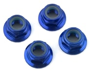 Traxxas 5mm Aluminum Flanged Nylon Locking Nuts (Blue) (4) | relatedproducts