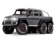 Traxxas TRX-6 1/10 6x6 Trail Crawler Truck w/Mercedes-Benz G 63 AMG Body(Silver) | relatedproducts