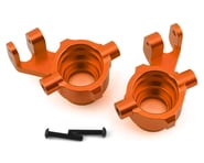 Traxxas Maxx Aluminum Steering Blocks (Orange) | alsopurchased
