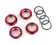 Traxxas GT-Maxx Aluminum Spring Retainer (Red) (4) | product-also-purchased