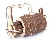 UGears Combination Lock Wooden 3D Model | relatedproducts