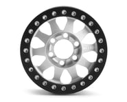 Vanquish Products Method 101 V2 1.9 Beadlock Crawler Wheels (Silver/Black) (2) | product-related