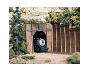 Woodland Scenics HO Single Tunnel Portal, Timber | alsopurchased