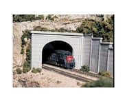 Woodland Scenics HO Double Tunnel Portal, Concrete | relatedproducts