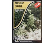 Woodland Scenics Fine Leaf Foliage, Medium Green/75 cu. in. | relatedproducts