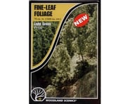 Woodland Scenics Fine Leaf Foliage, Light Green/75 cu. in. | relatedproducts