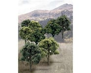 "Woodland Scenics Value Trees, Green Mix 3-5"" (14) 