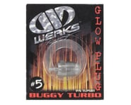 Werks #5 Turbo Glow Plug (Hot) (Off-Road) | alsopurchased