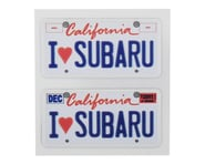 WRAP-UP NEXT REAL 3D U.S. Licence Plate (2) (I LOVE SUBARU) (11x50mm) | alsopurchased