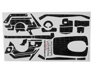 "WRAP-UP NEXT REAL 3D ""Crocodile"" Premium Transmitter Skin (Black) (Sanwa MT4) 