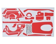"WRAP-UP NEXT REAL 3D ""Carbon"" Premium Transmitter Skin (Red) (Sanwa MT4) 