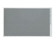WRAP-UP NEXT REAL 3D Grill Decal (Silver) (Honeycomb) (130x75mm) | alsopurchased