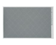 WRAP-UP NEXT REAL 3D Grill Decal (Silver) (Cross-Mesh/Thick) (130x75mm) | alsopurchased