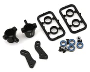 XRAY T4 2020 Aluminum Steering Blocks w/Graphite Extension Plates | relatedproducts